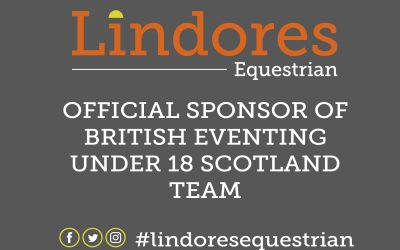 Official Sponsor of British Eventing U18 Scotland Team