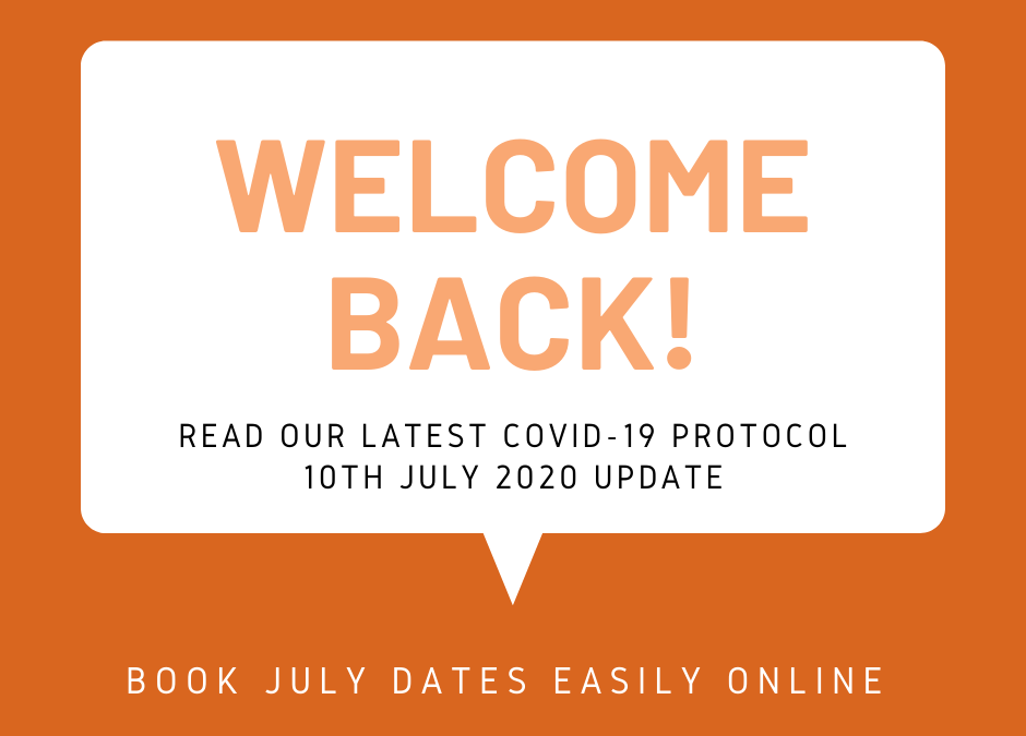 Our COVID-19 Protocol and Welcome Statement