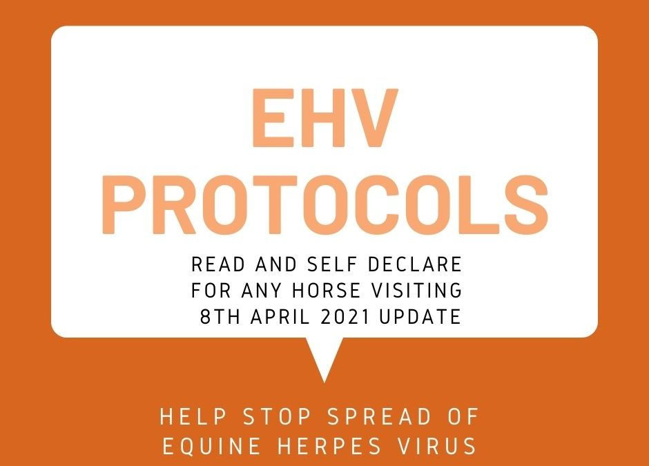 EHV Protocols at Lindores